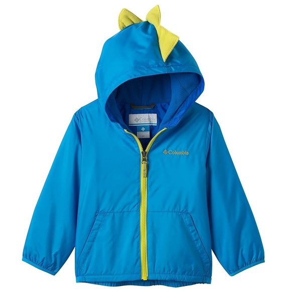 b67dca1c0 Columbia Jackets & Coats | Boys Toddler 2t Blue Dinosaur Jacket ...